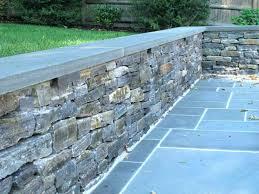 solar retaining wall lights stone wall lighting design grazing and retaining lights under cap natural outdoor