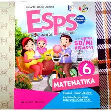 Halaman ini memuat materi matematika sma kurikulum 2013 revisi (peminatan). Jual Buku Esps Matematika Sd Mi Kelas 6 Kurikulum 2013 Erlangga Kota Bekasi Family Saputra Tokopedia