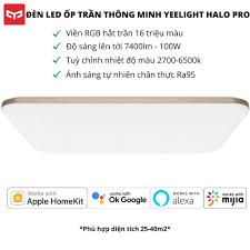 Đèn LED ốp trần Xiaomi Yeelight thông minh trang trí phòng 930mm, tuỳ chỉnh  nhiệt độ màu ánh sáng, YLXD49YL