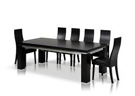 hermes modern dark modern black dining table as dining table set