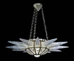 rock crystal sunshine chandelier by