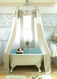 free standing tub shower curtain rod modest ideas free standing shower curtain shower curtain rod for