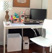 diy office furniture. Modern Bright Swivel Chair And DIY Office Desk Plus Cute Lamp Shade At Ikea Home Interior Diy Furniture