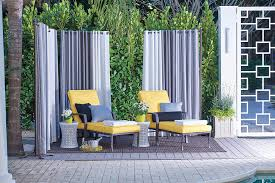 Outdoor Privacy Screens-Outdoor Curtains
