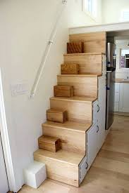 tiny home stairs modern tiny home boasts a big kitchen for foodies tiny  house stairs vs . tiny home stairs ...