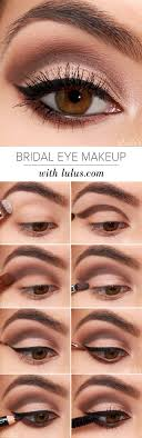 lulu s how to bridal eye makeup tutorial lulus fashion
