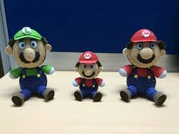 Kokoru Design Mario And Friends Kokoru Quilling Dolls Quilling
