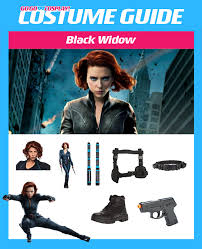 black widow costume from avengers age of ultron diy cosplay