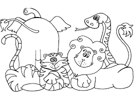Small Picture Printable Coloring Pages Of Animals