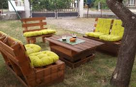 Tavoli Da Giardino In Pallet : Mobili da giardino con pallets divanetti esterno pallet fai te