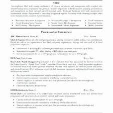 Student Resume Example Adorable 48 New Culinary Student Resume Examples Sierra