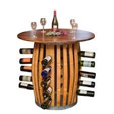 wine barrel wine rack furniture. Stave And Hoop Table Wine Rack Barrel Furniture F