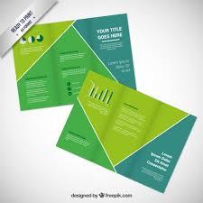 Green Brochure Template Green Brochure Template Vector Free Download