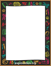 Letter Borders For Word Printable School Borders Download Them Or Print
