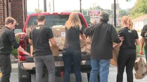 local emergency responders get free lunch from olive garden on