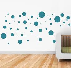 Small Picture Polka Dots wall stickers scatter dots around your room for a fun