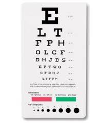 Details About Prestige Medical Pocket Snellen Eye Pupil Gauge Test Measuring Chart Device 3909
