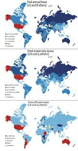 World Maternity Leave Chart Could This Chart Explain Why You Dont Get Much If Any