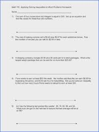 linear equations word problems worksheet