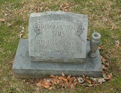 Deborah Opal Sims (1957-2001) - Find A Grave Memorial