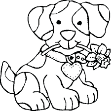 Free Coloring Pages Dogs Dog Coloring Pages Free Camelliacottageinfo
