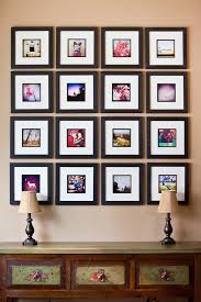 picture frames on wall. Square Photo Wall Frames Picture On O