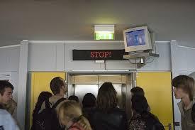 people stuck in elevator. photo via flickr people stuck in elevator