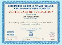 International Journal Publication Research Paper Publication And