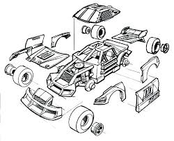 Car Racing Coloring Pages Coloring Pages Printable Coloring Pages