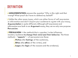 structures argumentation engl dr r ramos revised  definition  argumentation answers the question why is this right and that wrong