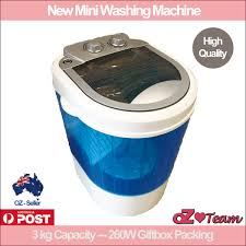 Mini Washing Machines Easymaxx Mini Washing Machine 260w 3kg Top Loader Camping Caravan