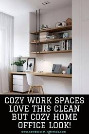 A cleaning service like ours does more than just get your property looking neat and tidy. Home Office Cozy Work Niche Cozy Work Spaces Love This Clean But Cozy Home Office Look