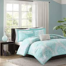 aqua and white bedding.  And Image Is Loading BEAUTIFULMODERNCHICLIGHTAQUABLUEGREYWHITE And Aqua White Bedding