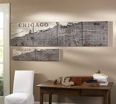 chicago wall art chicago wall decor on rustic wall decor