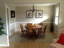 painting chair rail same color wall walls ideas on charming dining room colors with chair rail