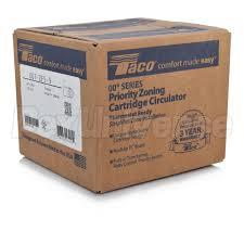 taco 007 zf5 9 cast iron priority zoning circulator, 115v taco 007-f5 manual at Taco Cartridge Circulator Wiring Diagram