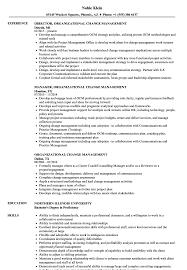 Management Resume Samples Organizational Change Management Resume Samples Velvet Jobs 71