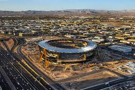 Oakland Raiders Seating Chart View Raiders Stadium In Las Vegas Continues To Be On Time On