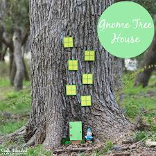 diy gnome tree house crafts unleashed