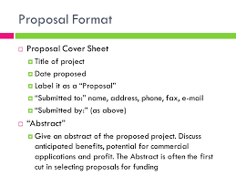 Construction Proposal Format Project Proposal Format School Building Construction Project 87