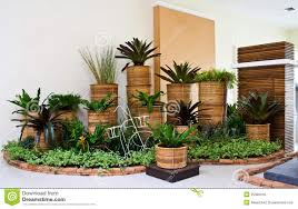 Indoor Garden Indoor Garden For Room Corner Decoration Royalty Free Stock Image