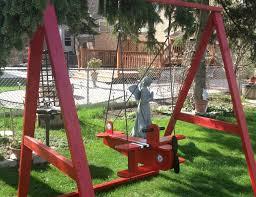 diy swing set a frame