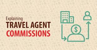 Explaining Travel Agent Commissions Infographic Charts
