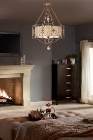 feiss marcella british bronze three light chandelier