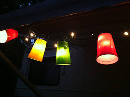 Christmas Lights Solo Cups Christmas Lights And Solo Cups Make Perfect Camping Lights