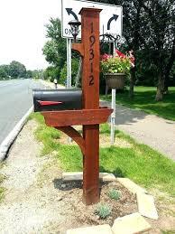 Image Diy Mailbox Post Design Ideas Mailbox Post Plans Free Cedar Mailbox Plans Woodworking Projects Plans Cedar Mailbox Wilray Designs Mailbox Post Design Ideas Foxliveclub
