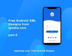 Android Material Design Login Form Xml Ui Design Pin On Appsnipp