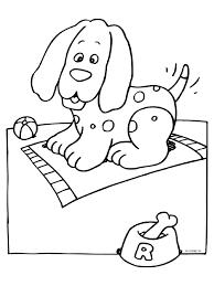 63 Kleurplaten Van Hond