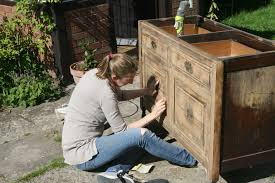 how to make your own bathroom washstand charlie diyite sanding a victorian cupboard