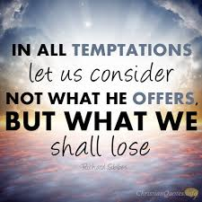 Christian Temptation Quotes